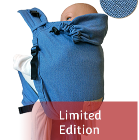 BabyCarrier Soft-blue
