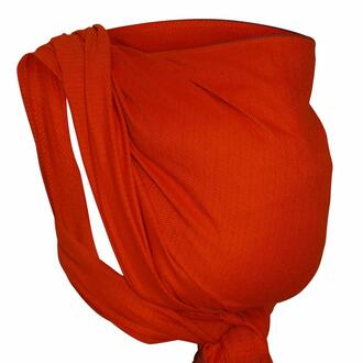 Storchenwiege-Tagetuch-Leo-orange