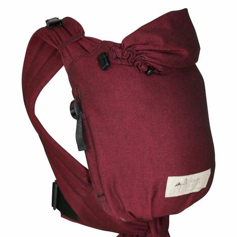 Storchenwiege-BabyCarrier-Bordeaux