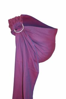 Storchenwiege-RingSling-Leo-violet