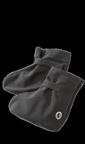 Praktisches Softshell-Booties schwarz