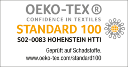 [Translate to Englisch:] Öko-Tex Standard 100