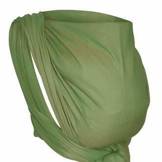 Storchenwiege-Tagetuch-Leo-gruen