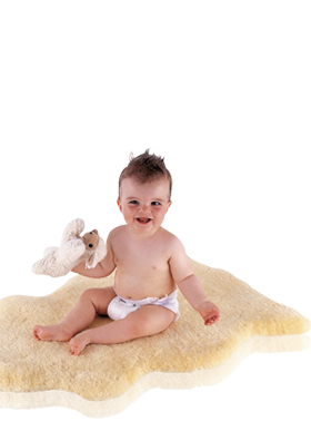 Praktisches Babylammfell