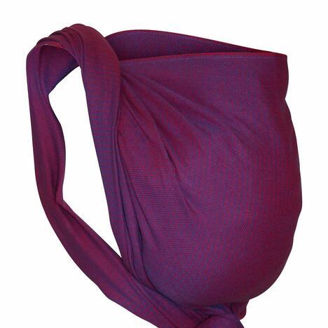 Storchenwiege-Tagetuch-Leo-violett