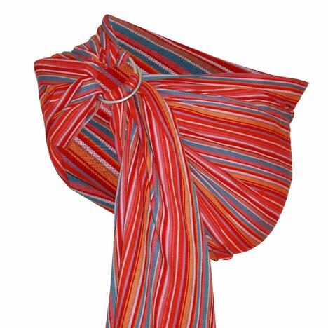 Storchenwiege-RingSling-Lilly